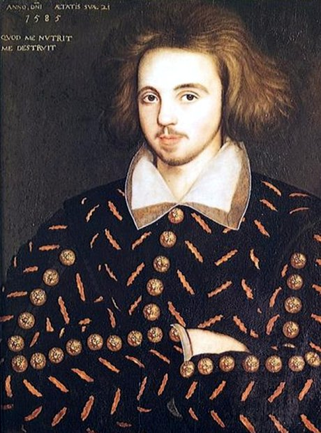 Christopher Marlowe Elizabethan playwright 450