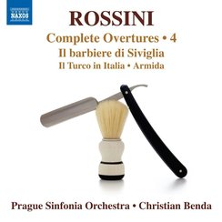 Rossini overtures 4 Prague Benda