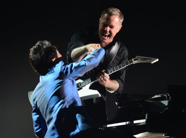Lang Lang and Metallica at the Grammy Awards live