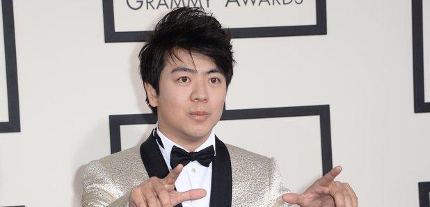 Land Lang at the Grammy Awards