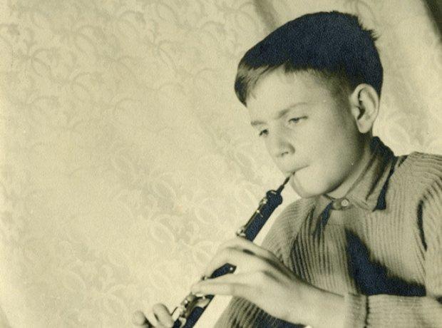 Karl Jenkins schoolboy oboe oboist