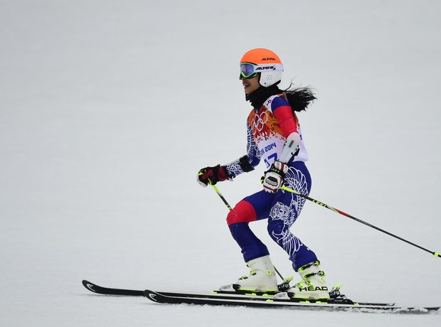 Vanessa Mae at the Winter Olympics