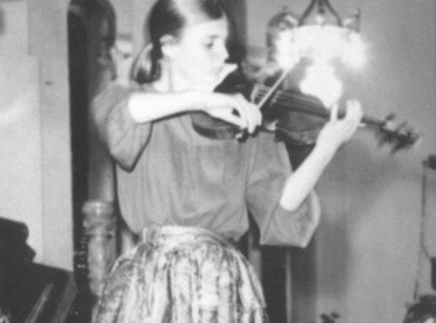 Angele Dubeau violinist Stradivarius Des Rosiers