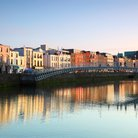 Ha'penny Bridge Dublin Ireland
