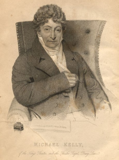Irish tenor Michael Kelly Mozart