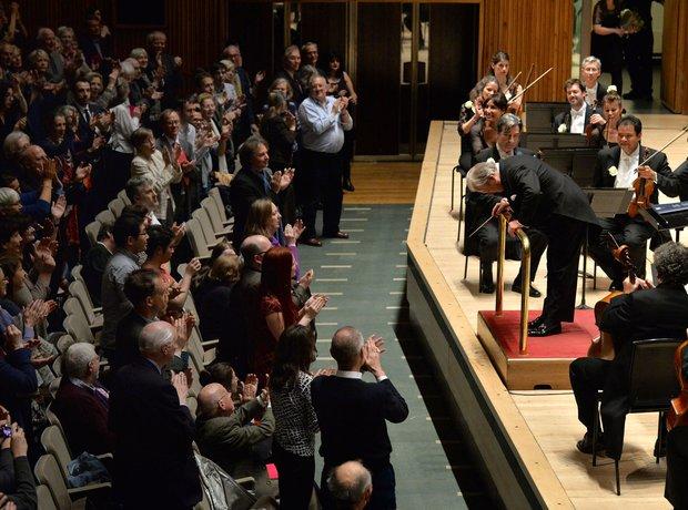 Neville Marriner 90th birthday concert Festival Hall London