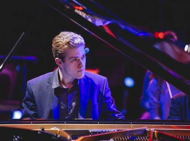 Joseph Moog Classic FM Live 2014 rehearsals