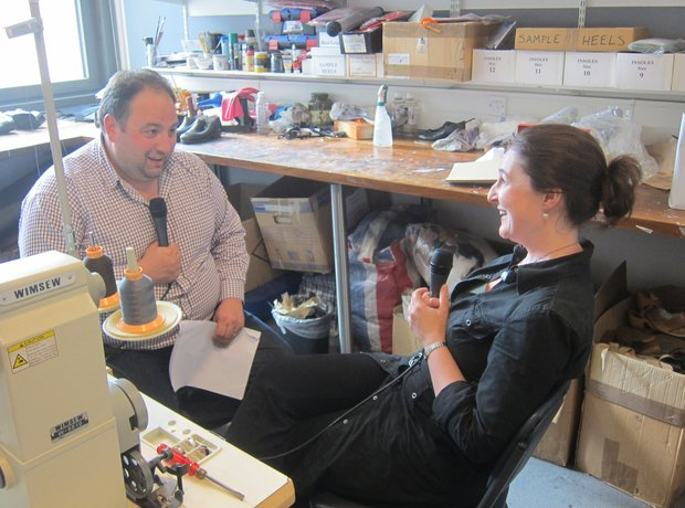 Cheryl Knight opera footwear superviser Royal Opera