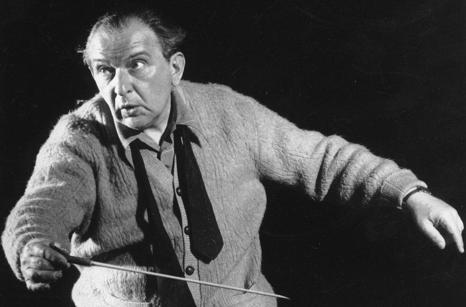 Fritz Reiner conductor Richard Strauss Bartok