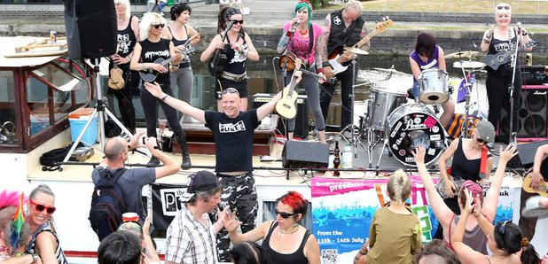 Our Big Gig at Regents Canal, London