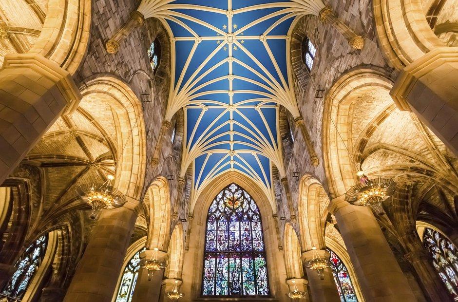 St Giles Cathedral Edinburgh Festival Scotland venues