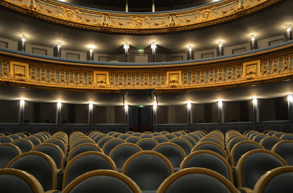 Nantes Theatre Graslin France opera house Angers Loire