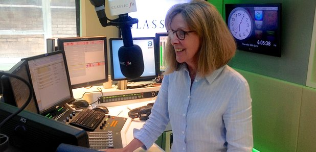 Jane Jones studio 2014 Classic FM