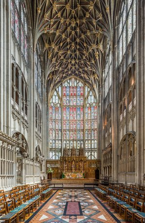Gloucester Cathedral High Altar Gloucestershire