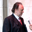 John Suchet and Riccardo Chailly
