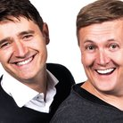 Tom Chambers and Aled Jones in White Christmas