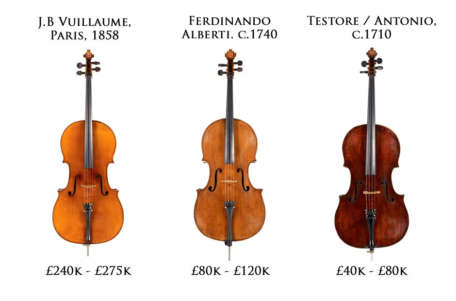 Beares Cello Auction