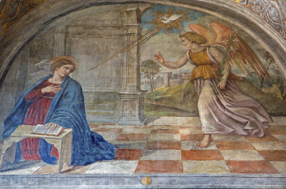 Padua Annunciation Virgin Mary Angel Gabriel