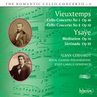 Vieuxtemps Ysaye Cello Concertos Romantic Hyperion