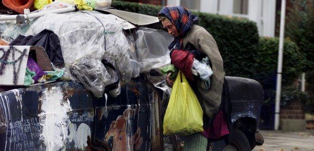 Anne Naysmith West London 'Bag Lady'