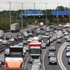 Motorway M25 rush hour congestion