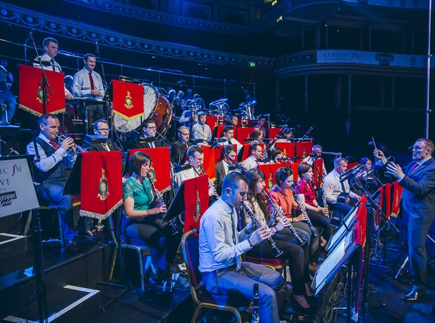 Band of Her Majesty's Royal Marines Classic FM Liv