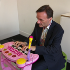 Stephen Hough pink piano