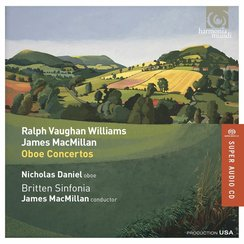 Vaughan Williams Macmillan Oboe Concerto Daniel