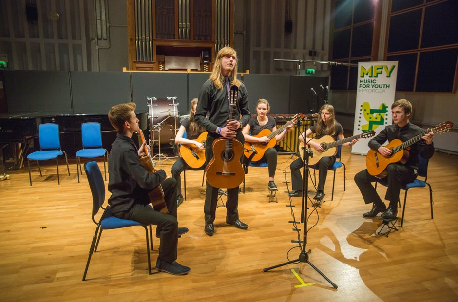 Calderdale Youth Guitar Ensemble