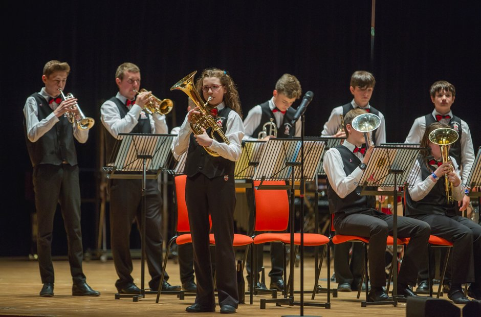 Fred Longworth High School Brass Band