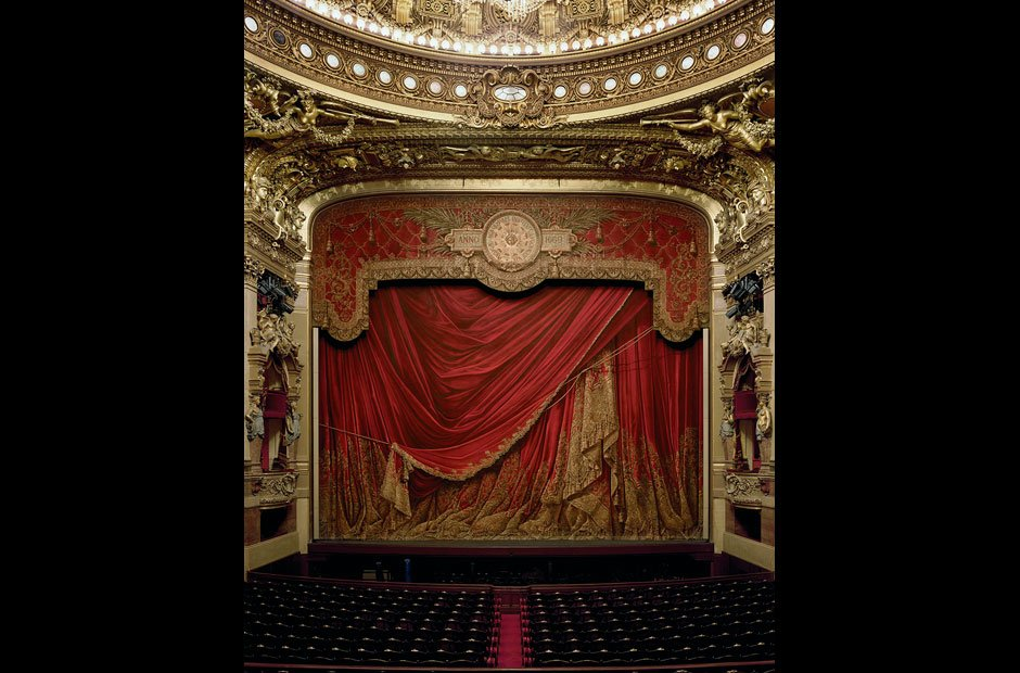 Curtain, Palais Garnier, Paris