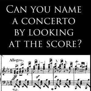 Quiz name the concerto
