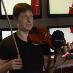 Joshua Bell masterclass