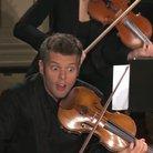Shocked violin
