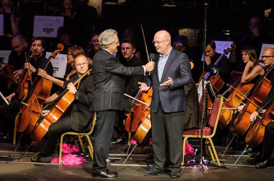 John Suchet and Nigel Hess
