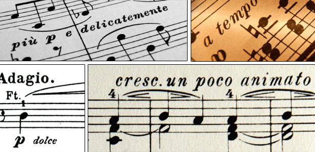 Worksheets In Music What Does Allegro Mean how well do you know these italian musical terms classic fm terms