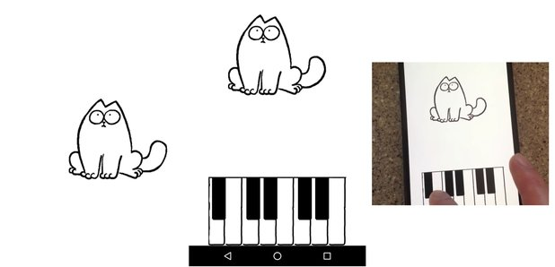 Simon's Cat Piano asset