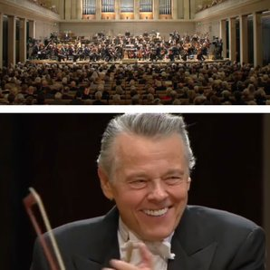 mariss jansons birthday surprise