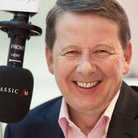 Bill Turnbull in Classic FM studio