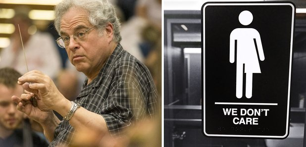 Itzhak Perlman bathroom bill