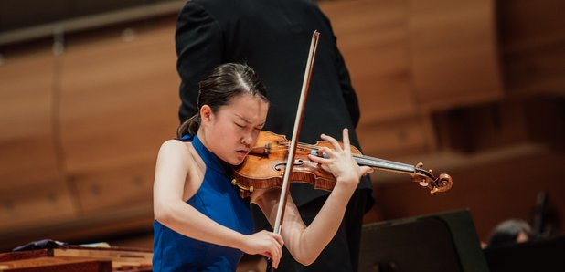 Ayana Tsuji montreal international violin competit