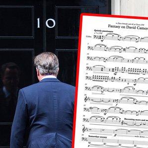 david cameron humming cello version