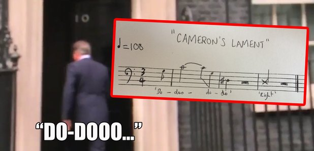 david cameron humming musical analysis