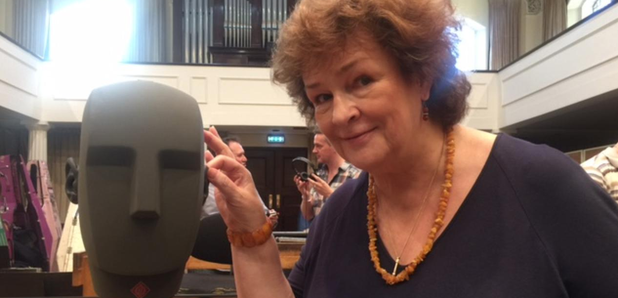 Catherine Bott Binaural recording head