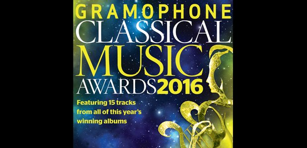 Gramophone Awards 2016 sampler CD cover