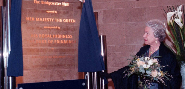 Bridgewater Hall opening Queen