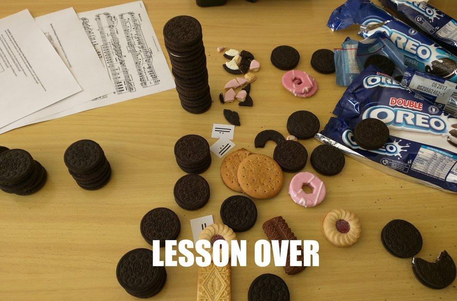 Music theory Oreos