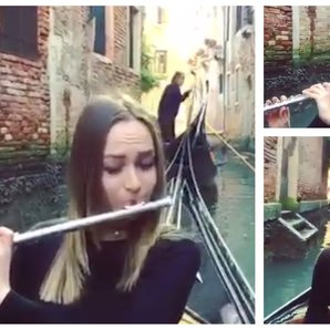 Carnival of Venice flute