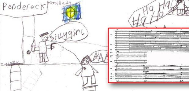penderecki kids drawing