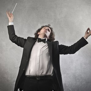 Conductor stock images